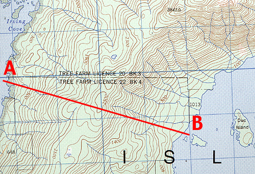 Contour Line Drawing Map : Geomatics tools topographic map symbols
